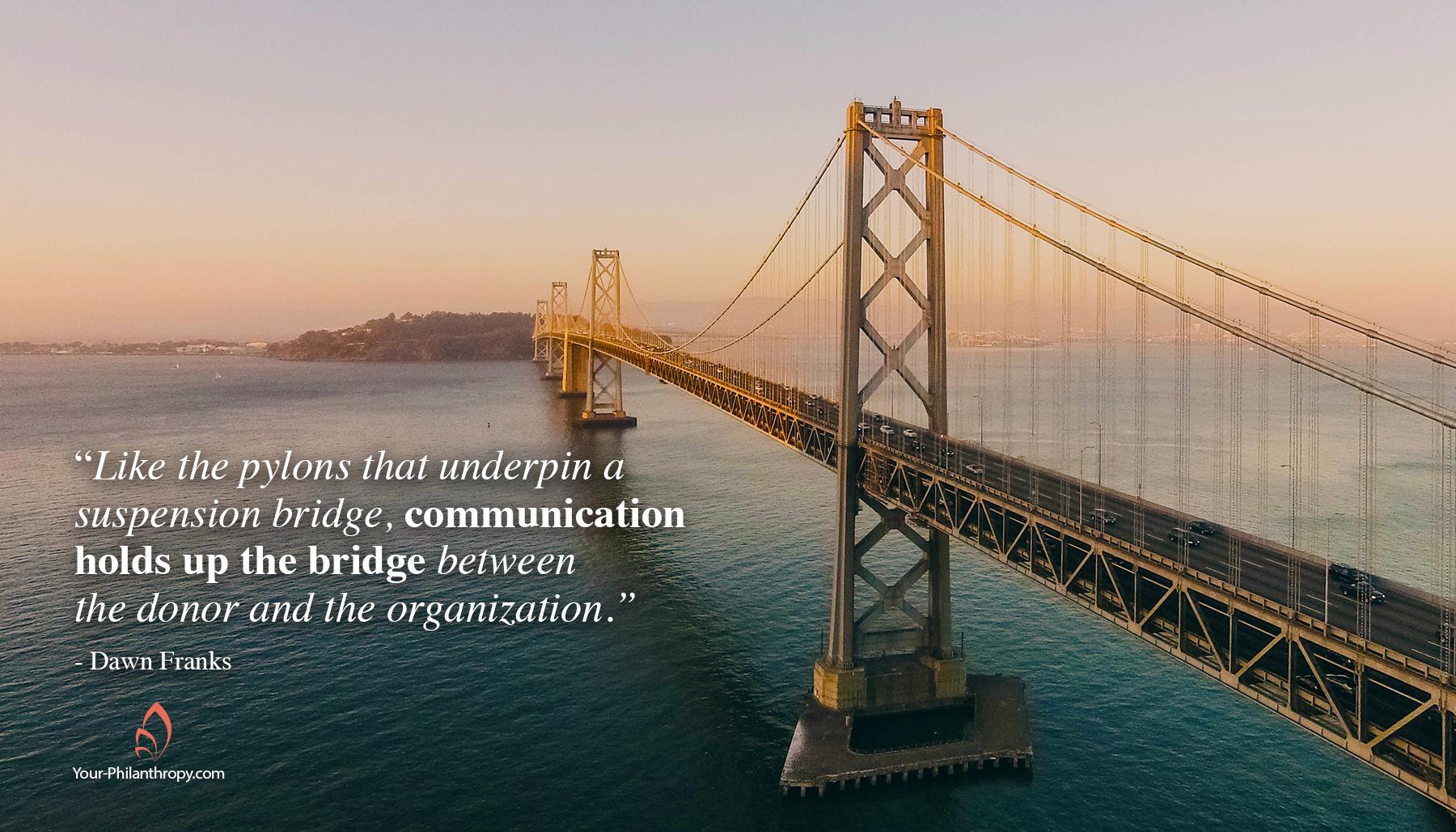 donor communucation