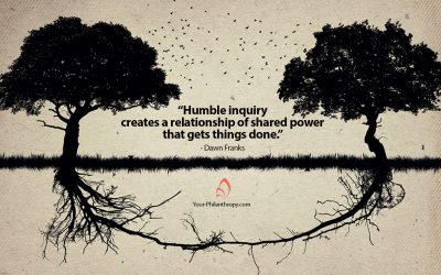 The Benefits of Humble Inquiry Between Nonprofits and Donors
