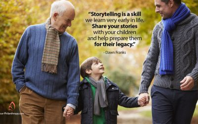 The Power of Storytelling and Your Children's Legacy