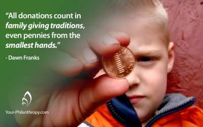 How Giving Traditions Glue Generations Together
