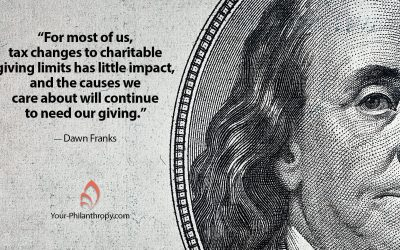 How Will Political Change Impact Your Giving?