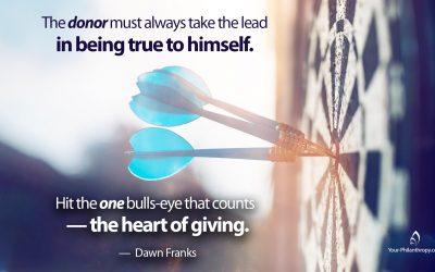 Entrepreneur or Artist, Be True to Your Giving Spirit