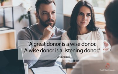 3 Quick Tips for Better Donor Listening Skills