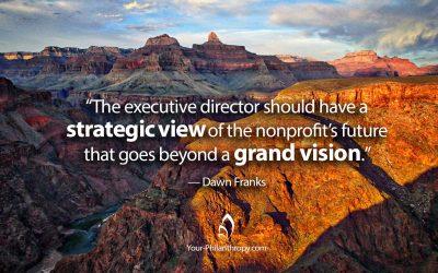 Strong Executive Directors Lead Healthy Nonprofits