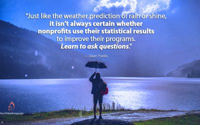 Lessons I've Learned About Nonprofit Results and Predictions