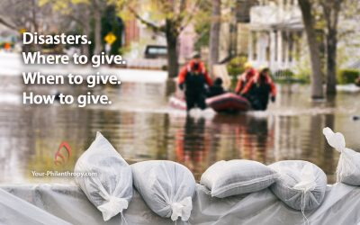 Decide Where, When, How in Giving to Disasters