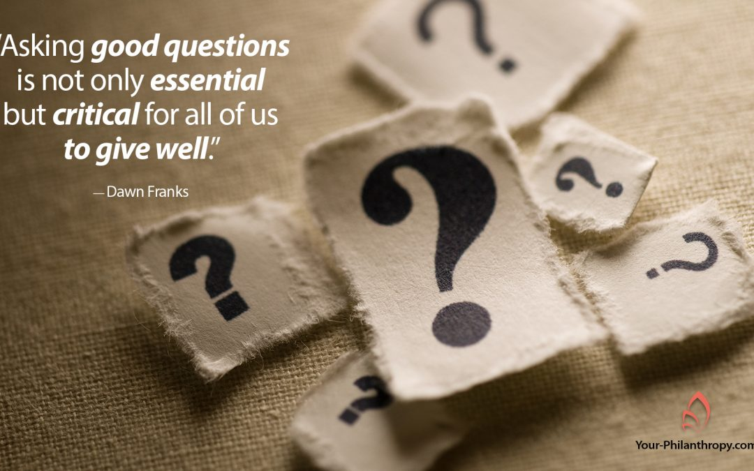 5 Critical Questions for Powerful Philanthropy