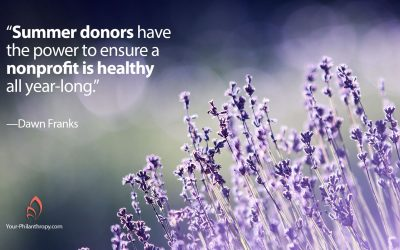 How Mid-Year Gifts Make Healthy Nonprofits