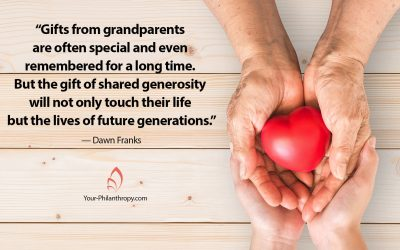 How to Share Your Generosity with a Child