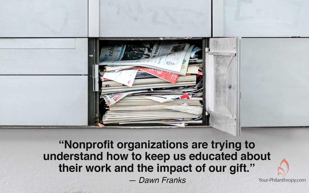 How Do You Slow Nonprofit Traffic in Your Mailbox?
