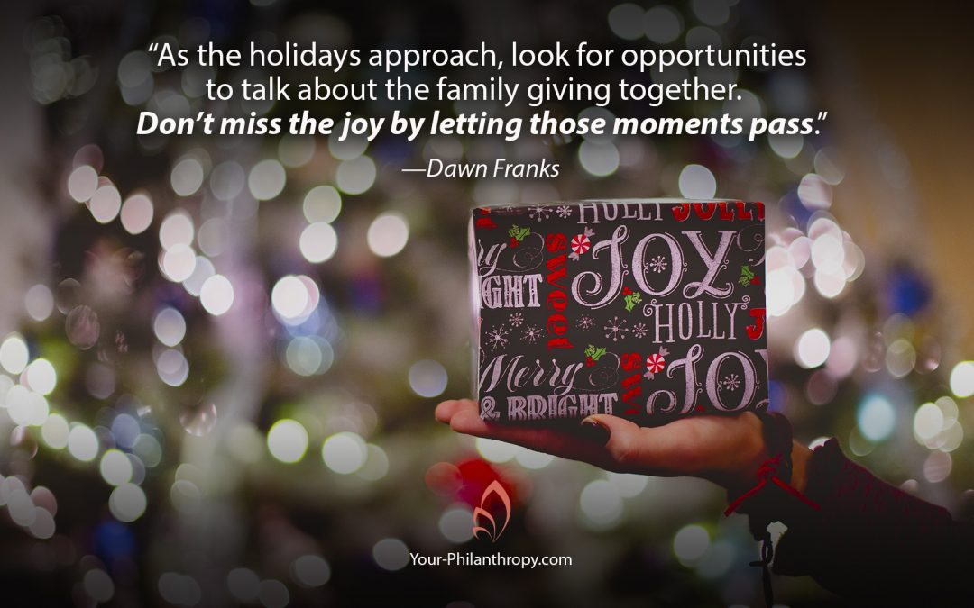 How Family Giving Adds Joy to the Holidays