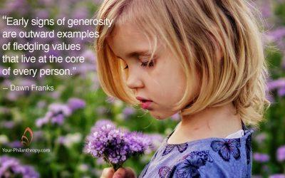 How to Ensure Your Kids Catch Heartfelt Generosity