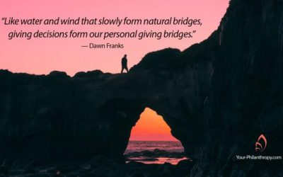 How to Build a Giving Bridge One Intentional Gift at a Time