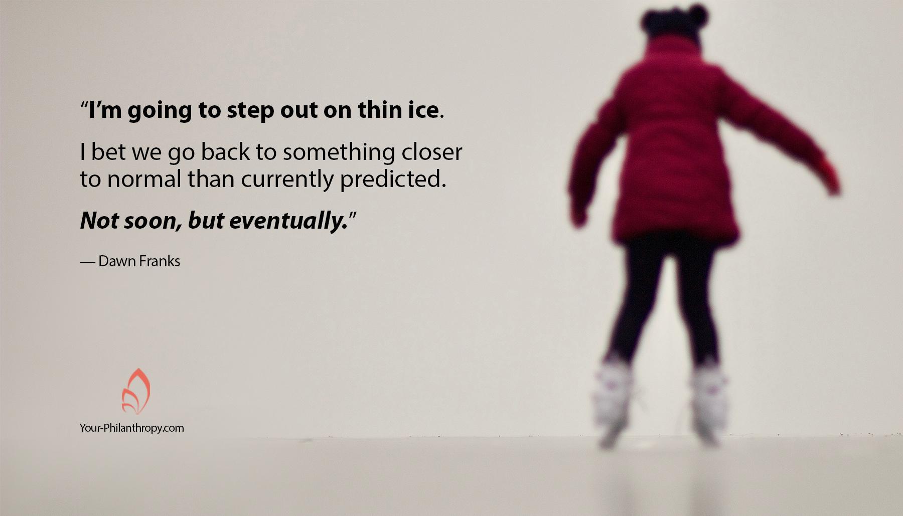 Nonprofits on thin ice