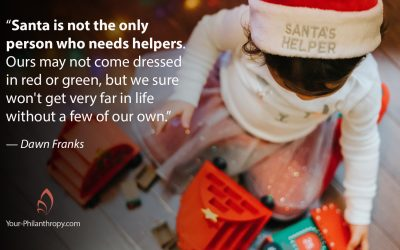Helpers Can Make Year-End Giving More Meaningful