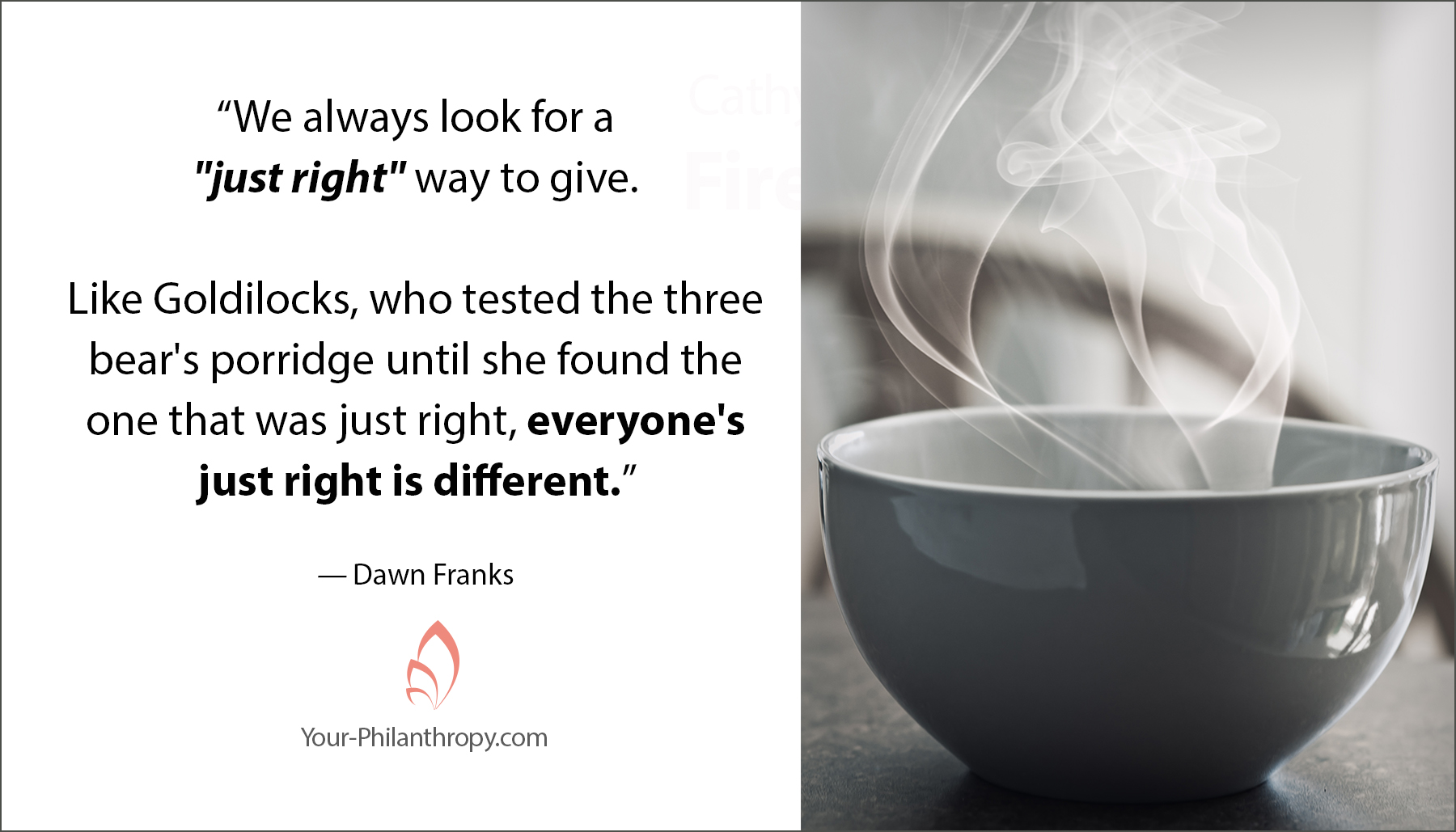 Just Right Giving