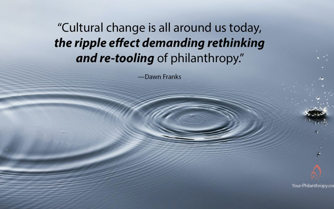 How the Rising Generation Will Revolutionize, then Conflate Philanthropy