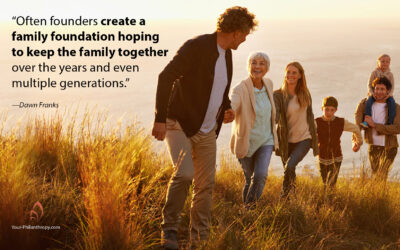 One Family's Story of the Work and Reward of Multi-Generational Giving