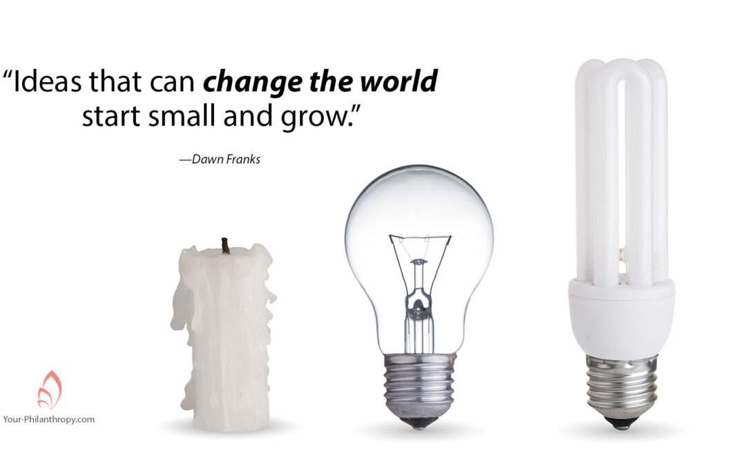 How a Few Minutes a Day Can Change the World