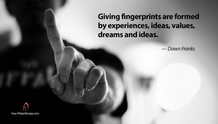 Giving Fingerprints