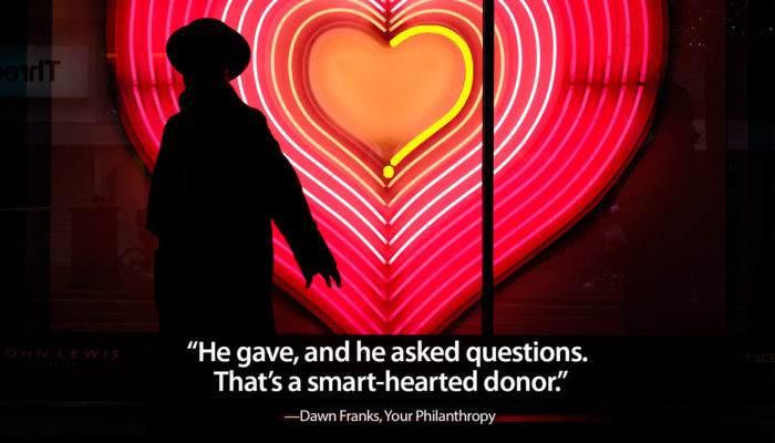 smart-hearted donor