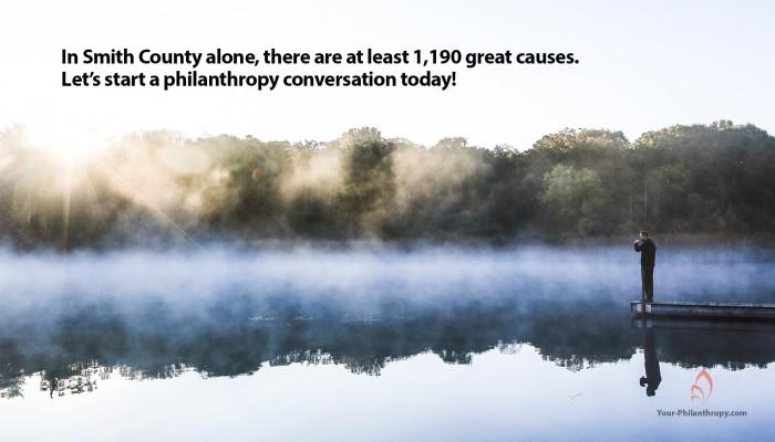 philanthropy conversation