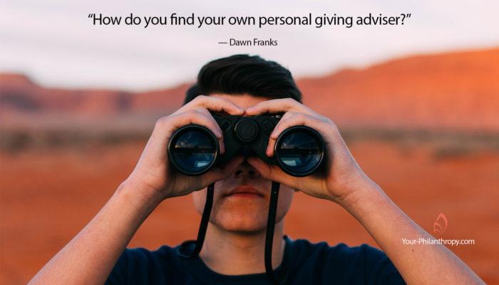 giving adviser
