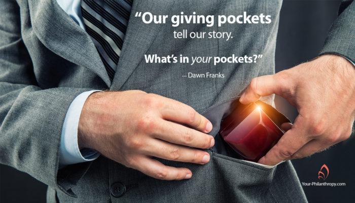 giving pockets