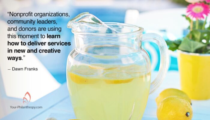 How Nonprofits Make Great Lemonade Out of Lemons